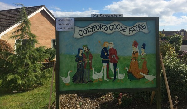 The Annual Colyford Goose Fayre