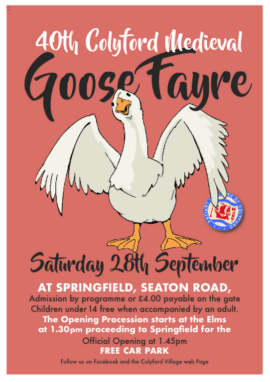 40th Colyford Goose Fayre